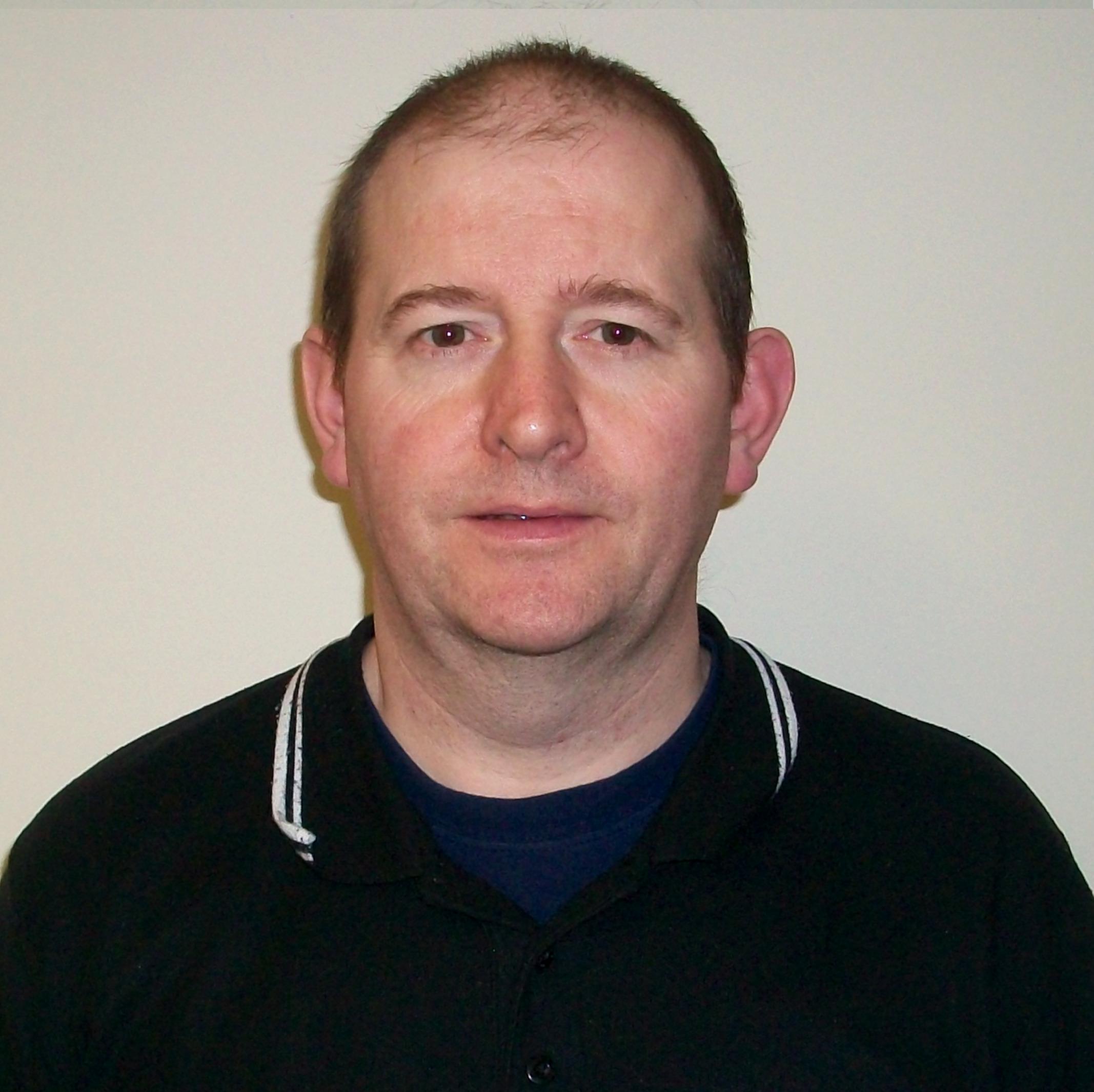 An Image of the Maintenace Manager John Duthie
